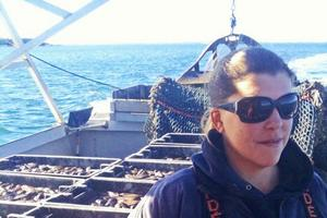 Stonington lobsterman Genevieve Kurelic McDonald