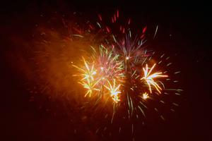 July 4th fireworks in Stonington