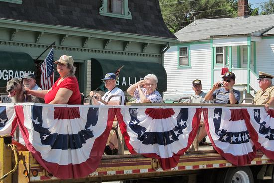 The Rodney Stinson Post #102 American Legion july 4th float