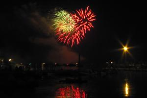 Stonington's July 4th fireworks