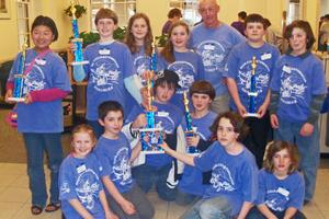 The DIS K-6 chess team
