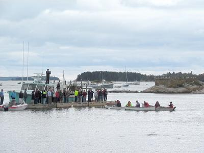 Launch day of the Eastern Maine Skippers Program