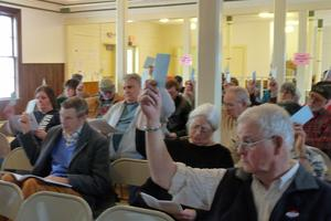 Stonington's town meeting