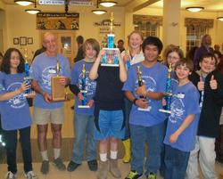 The DIS K-8 chess team