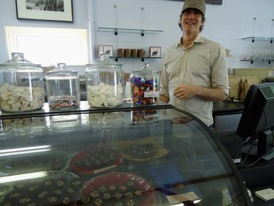 Steve Shaffer of Black Dinah Chocolatiers