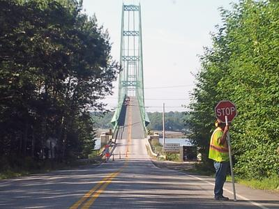 Deer Isle-Sedgwick Bridge work from 2013