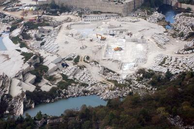 Quarry mining on Crotch Island