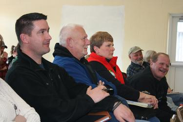 Maine Lobster Union reps attend DMR meeting in Stonington