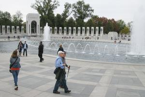 WWII Memorial in Washington, D.C.
