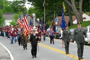 Blue Hill celebrates Memorial Day 2012
