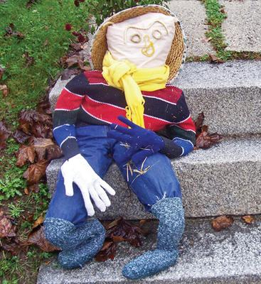 Scarecrow at George Stevens Academy