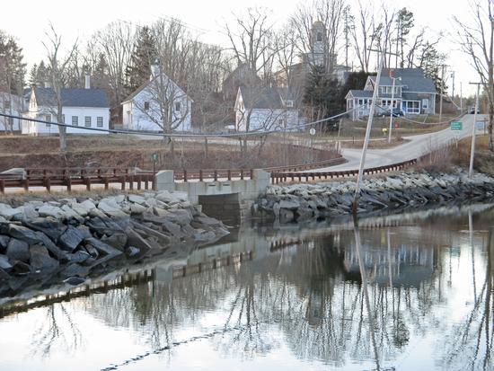 Benjamin River bridge