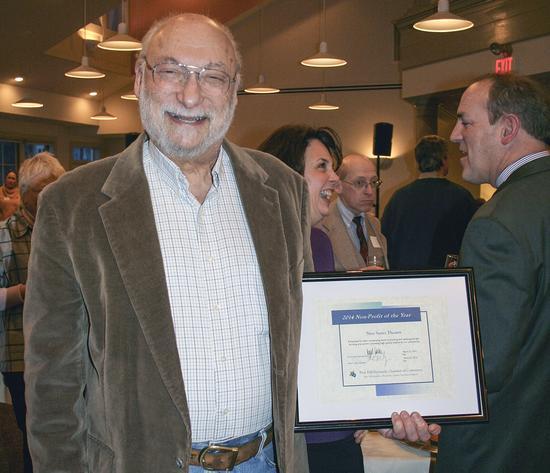 Bill Raiten, executive director of New Surry Theatre, Blue Hill, Maine