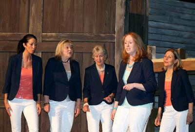 A Cappella group Ellacappella of Blue Hill, Maine