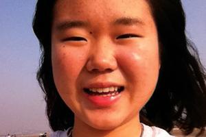 "George Stevens Academy 2014 Salutatorian Jiangqiong ""Joan"" Liu"