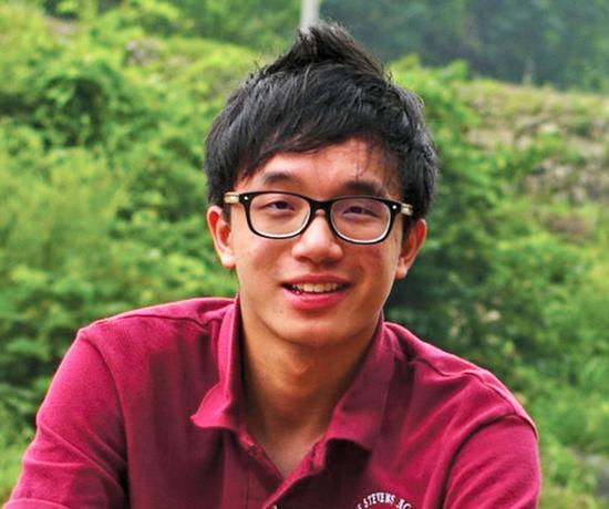 """George Stevens Academy 2014 First Honor Essayist Linfeng """"Bigo"""" Shen"""