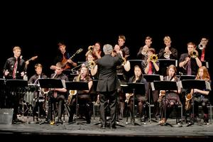The George Stevens Academy Jazz Band