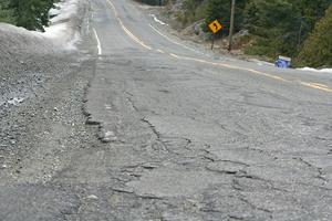 Potholes plague Mines Road in Blue Hill