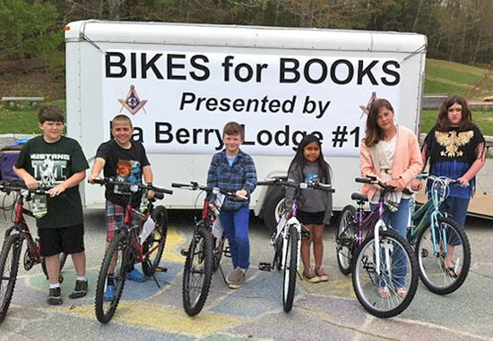 Freemasons reward readers with bikes