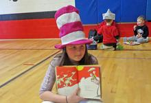 Dr. Seuss celebration in Brooksville, Maine