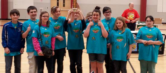 Sedgwick Elementary School robotics team takes second at regional competition.