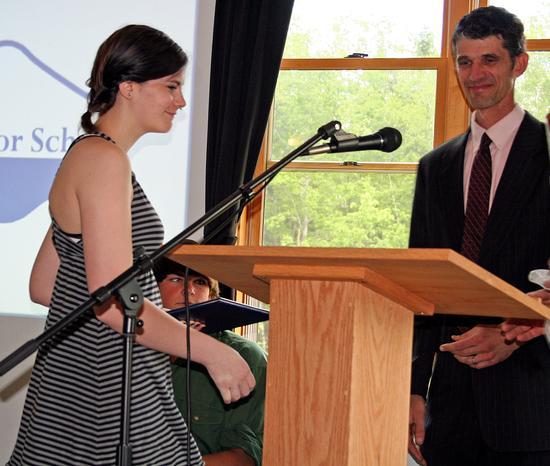 Bridget Ann Limeburner graduates from BBHS