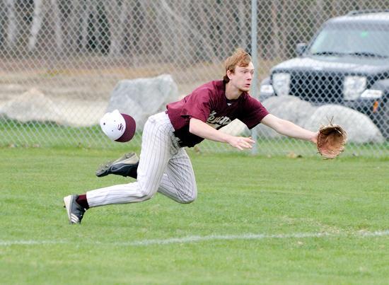 George Stevens Academy baseball player Tyler Webber