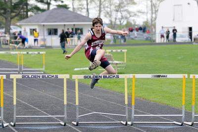 Alex Taylor-Lash, of the George Stevens Academy varsity track team
