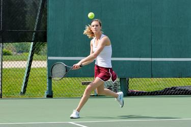 The Eagle's Maggie Keating plays first singles
