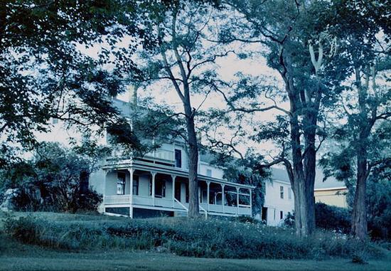 The Edgehill house