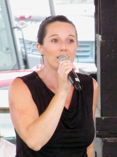 Trudi Clark performs at Blue Hill Fair Idol Contest 2013