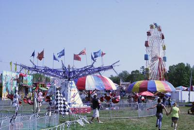 The Midway at Blue Hill Fair 2013