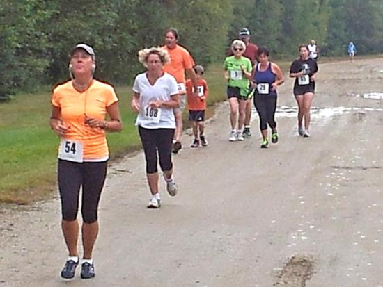 The inaugural Wilbur 5K at the 2013 Blue Hill Fair