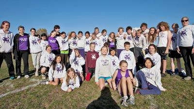 Bay School's cross country teams