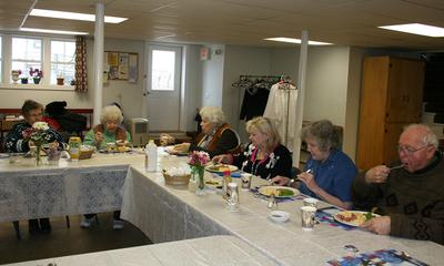 Community Café at the First Baptist Church