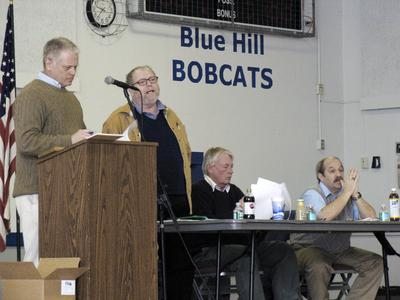 Blue Hill town meeting on April 2