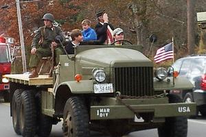 Blue Hill Veterans Day parade