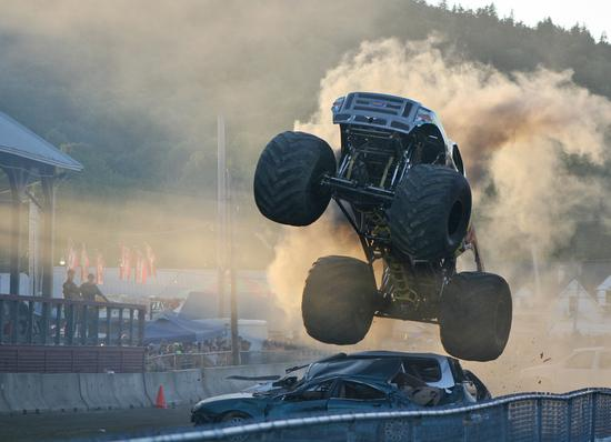XDP diesel powered monster truck