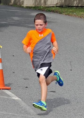 Ellis Columber in the Blue Hill Memorial Hospital Fun Run