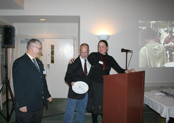 Former chamber president Bill Grindle