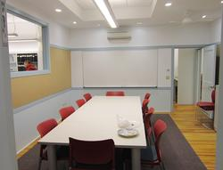 The new meeting room at the Brooklin Town Office