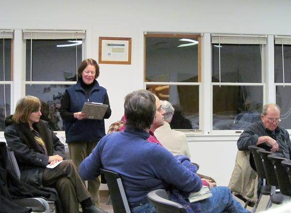 Brooksville farmer Deborah Evans at a February 14 public hearing