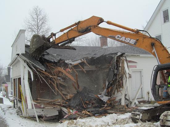 Candage building demolition