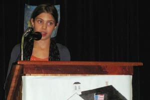 Surry middle school student Grace Neal