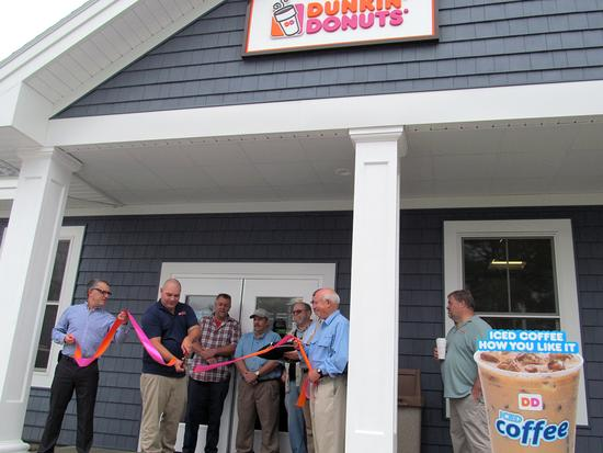 Dunkin' Donuts is open for business