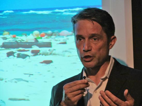 Filmmaker and ocean researcher Fabien Cousteau