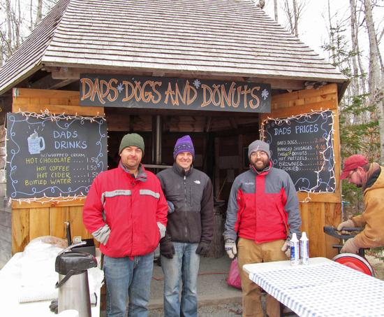 Dads' Dogs 'n' Donuts stand