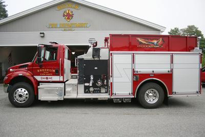 """Integrity,"" a spanking new fire truck"