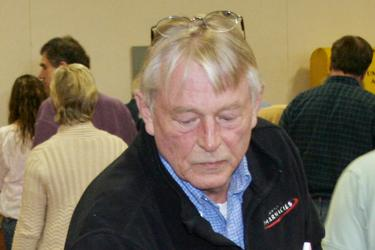 Duane Gray casts a ballot