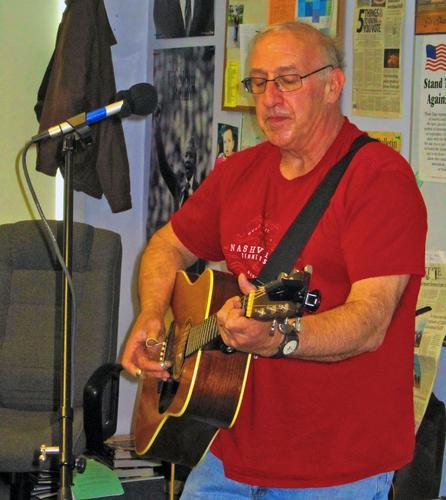 Musician George Lirakis